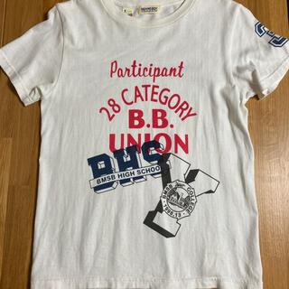 ビームスボーイ(BEAMS BOY)のビームスボーイ オフホワイトTシャツ Sサイズ(Tシャツ(半袖/袖なし))