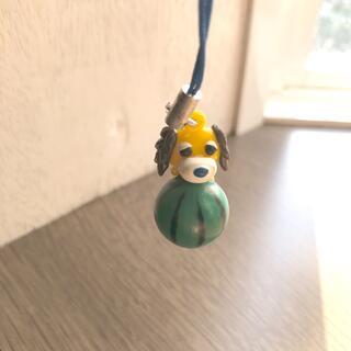 すいか お茶犬 フィギュア キーホルダー(その他)