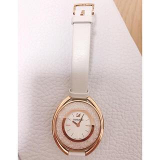 SWAROVSKI - スワロフスキー ピンクゴールド腕時計