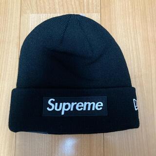 シュプリーム(Supreme)のSupreme New Era Box Logo  ビーニー ニット帽(ニット帽/ビーニー)