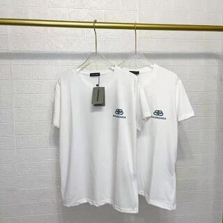 Balenciaga - 7717 BALENCIAGA ロゴ TシャツL