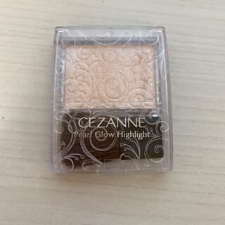 セザンヌケショウヒン(CEZANNE(セザンヌ化粧品))のセザンヌ パールグロウハイライト 01 シャンパンベージュ(2.4g)(フェイスカラー)