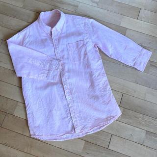 アベイル(Avail)のピンク 七分袖シャツ L(シャツ)