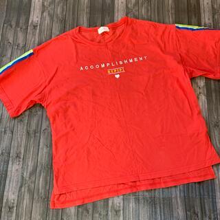 レピピアルマリオ(repipi armario)のレピピ ビッグシルエット Tシャツ(Tシャツ/カットソー)