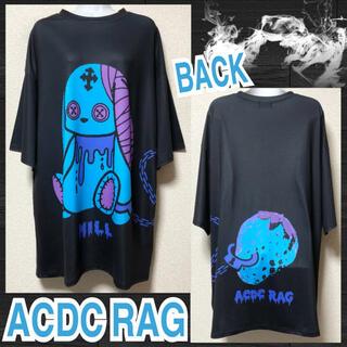 エーシーディーシーラグ(ACDC RAG)の【新品/ACDC RAG】バニードールズプリントTワンピ/ミル(ミニワンピース)