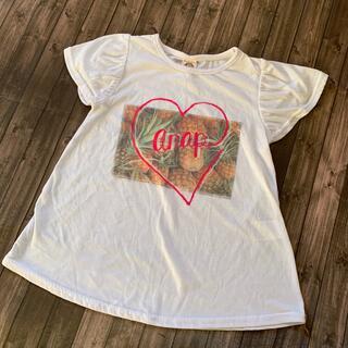 アナップキッズ(ANAP Kids)のANAP kids  パイナップル柄 Tシャツ(Tシャツ/カットソー)