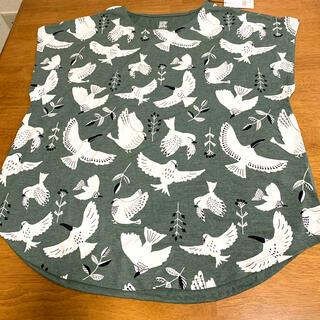 グラニフ(Design Tshirts Store graniph)のグラニフ レディース 新品 Tシャツ 鳥 (カットソー(半袖/袖なし))