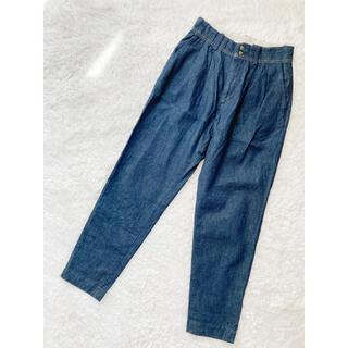 45R - 【美品】パラスパレス リネン混クロップドパンツ サイズ3 ブルー