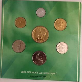 2002年 FIFAワールドカップ 日韓W杯 記念貨幣 ミントセット(貨幣)