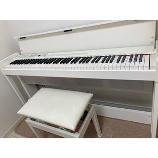 コルグ(KORG)の⚫nii様専用⚫KORG C1air  電子ピアノ  ホワイト(電子ピアノ)