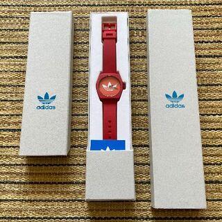 アディダス(adidas)の【新品・未使用】アディダス(adidas)腕時計『PROCESS_SP1』赤(腕時計(アナログ))