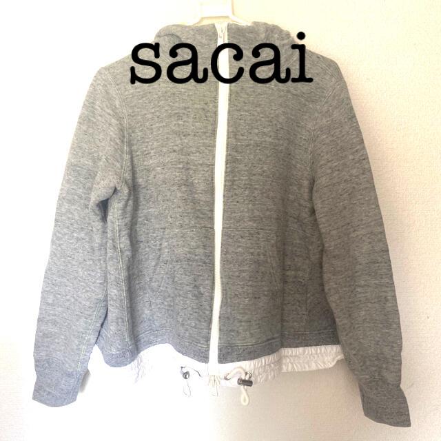 sacai luck(サカイラック)のsacailack デザインパーカー レディースのトップス(パーカー)の商品写真