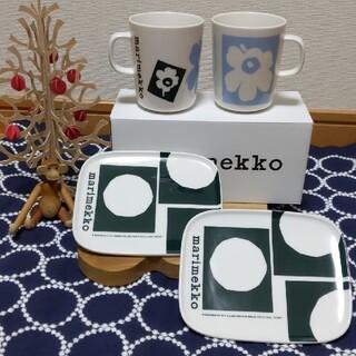marimekko - marimekko アニバーサリー マグカップ&プレート セット
