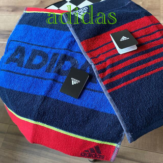 アディダス(adidas)の[adidas] パイルハンカチ2枚組💁♀️(ハンカチ)