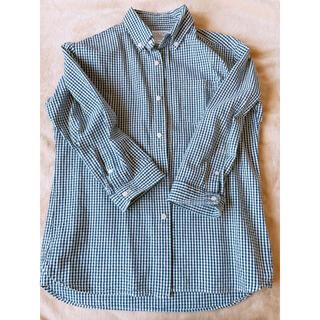 チャオパニックティピー(CIAOPANIC TYPY)のチェック シャツ 長袖 チャオパニック メンズ ブルー 青(シャツ)