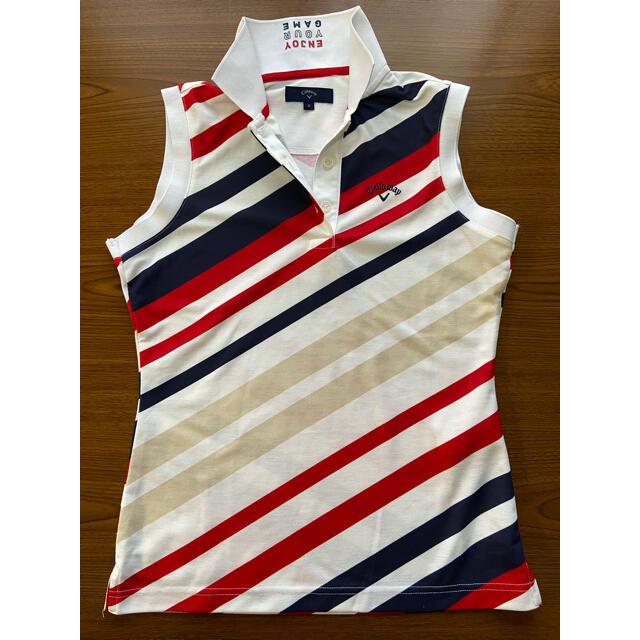 Callaway Golf(キャロウェイゴルフ)のキャロウェイ ノースリーブシャツ サイズM スポーツ/アウトドアのゴルフ(ウエア)の商品写真