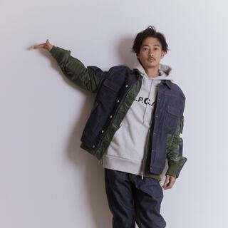 サカイ(sacai)のsacai APC EIMI denim jacket 窪塚洋介 新品 S(Gジャン/デニムジャケット)