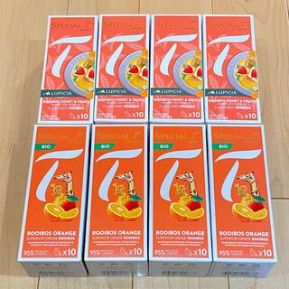2種8箱セット ルピシア ルイボス  ネスレ スペシャルT カプセル(茶)