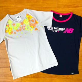 アディダス(adidas)のアディダス ニューバランス Tシャツ 2枚セット(Tシャツ/カットソー)