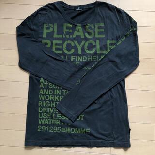 ニーキュウイチニーキュウゴーオム(291295=HOMME)の291295=HOMME カットソー 長袖 ロンT カーキ(Tシャツ/カットソー(七分/長袖))