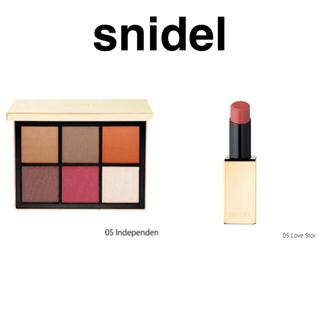 スナイデル(snidel)のsnidel  beauty リップ05&アイシャドウ05 スナイデルビューティ(アイシャドウ)