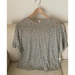 ミナペルホネン(mina perhonen)のミナペルホネン umi リネンTシャツ(Tシャツ(半袖/袖なし))