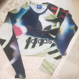 アディダス(adidas)のadidasロンT(Tシャツ(長袖/七分))