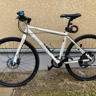 ルイガノ(LOUIS GARNEAU)の美品 クロスバイク ルイガノLGS-TA LITE EA あさひ限定モデル(自転車本体)