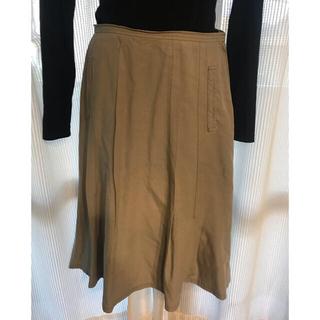 アラミス(Aramis)のARAMIS グレーの台形スカート⭐︎(ロングスカート)