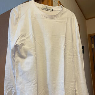 ストーンアイランド(STONE ISLAND)のstone island ロングTシャツ ストーンアイランド(Tシャツ/カットソー(七分/長袖))