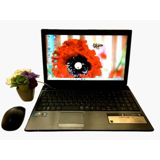 エイサー(Acer)の美品!SSD256G/メモリ4GB/i5/Win10/ ACER 5741(ノートPC)