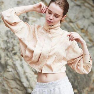 アメリヴィンテージ(Ameri VINTAGE)のjuemi チャイニーズシャツ(Tシャツ/カットソー(七分/長袖))