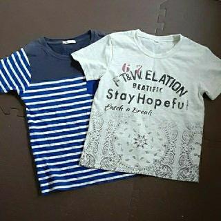 GU - 130㎝ 半袖 Tシャツ 2枚セット