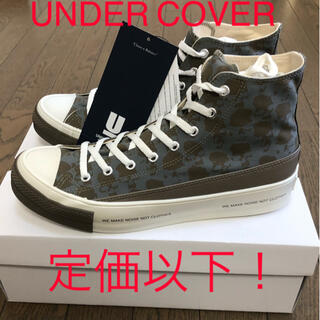 UNDERCOVER - UNDER COVER (アンダーカバー) ハイカットスニーカー 大幅値下げ!