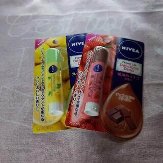 NIVEA Flavor LIP 2点セット(リップケア/リップクリーム)