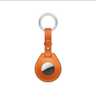 Apple - AirTag Hermès キーリング オレンジ