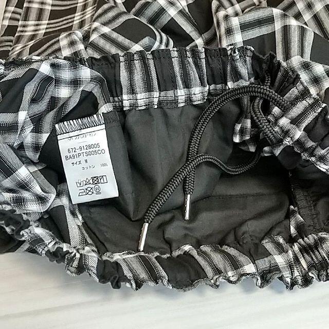 nano・universe(ナノユニバース)のナノユニバース メンズ ショートパンツ ハーフパンツ チェック柄 メンズのパンツ(ショートパンツ)の商品写真