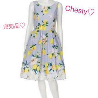 Chesty - Chesty チェスティ♡チェリーアン♡リランドチュール♡レモン柄ワンピース