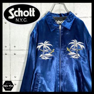 schott - 【即完売品】Shcott/ショット スーベニアジャケット スカジャン 激レア M