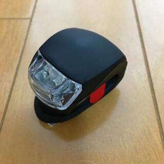 【新品】自転車ライト LED 黒(その他)