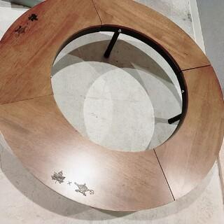 ロゴス(LOGOS)のLOGOS×ALADDIN円形テーブル(アウトドアテーブル)