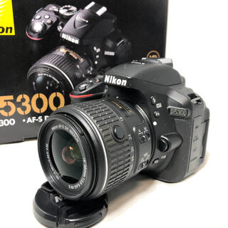 ニコン(Nikon)のNikon ニコン D5300 18-55 VRⅡ KIT 2315ショット美品(デジタル一眼)