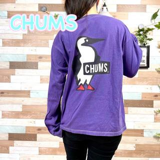 CHUMS - 【レア色】CHUMS チャムス バックプリント 長袖ロンT No.915