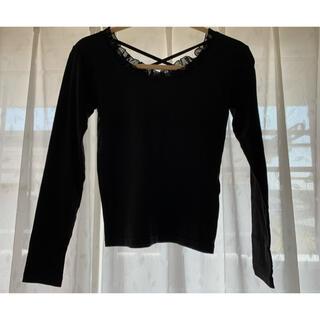 ナイスクラップ(NICE CLAUP)のクラスフリルインナー(Tシャツ(長袖/七分))