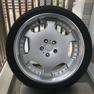 トヨタ - 19インチ ホイール ホイル タイヤ付き 深リム ミニバン セダン