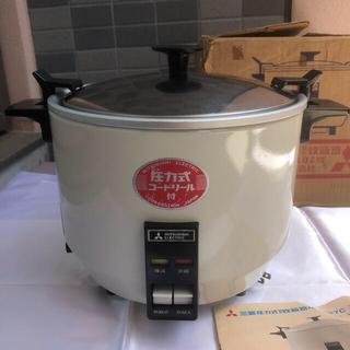 ミツビシ(三菱)の三菱 圧力式 電気炊飯器 NR-187C 昭和レトロ アンティーク インテリア(炊飯器)