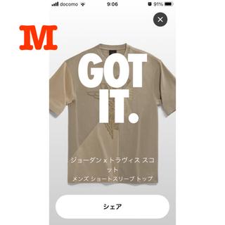 ナイキ(NIKE)のジョーダン x トラヴィス スコット メンズ ショートスリーブ トップ (Tシャツ/カットソー(半袖/袖なし))