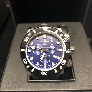 エドックス(EDOX)のエドックス クロノオフショア1 クロノグラフ 1000m防水 メンズ 10242(腕時計(アナログ))