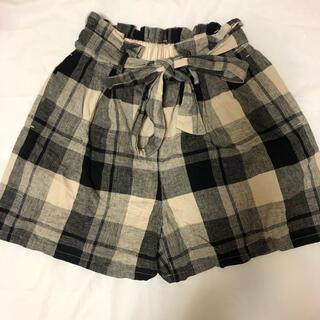 ジーユー(GU)のGU ショートパンツ キュロットパンツ 子供 レディース 女の子服(キュロット)