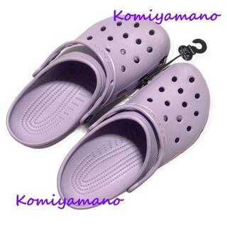 crocs - Crocs クロックス クラシッククロッグ 24cm ラベンダー 未使用